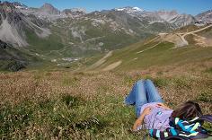 Tignes Alps - Enjoying the View