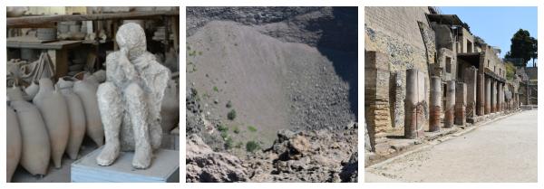 How to visit Pompei and Vesuvius